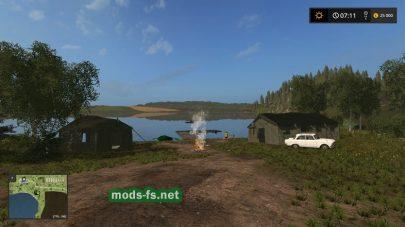 Место для отдыха в игре Farming Simulator 2017