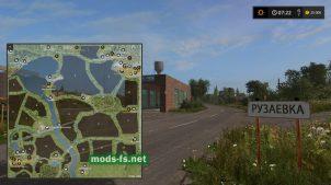 Схема карты Green Valley