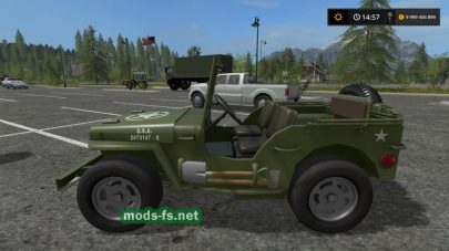 Мод автомобиля Jeep Willys