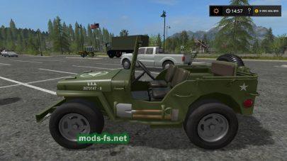 Мод автомобиля Jeep Willys