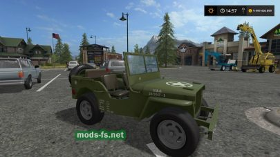 Jeep Willys для FS 17