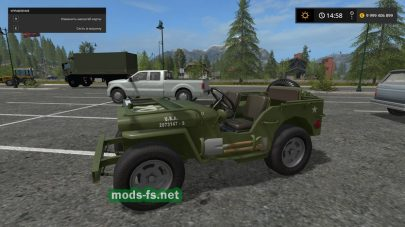 Jeep Willys mods