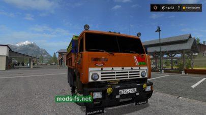 Мод на Kamaz Grain Truck