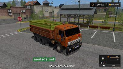 Kamaz Grain Truck mods