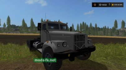 Мод тягача КРАЗ-256