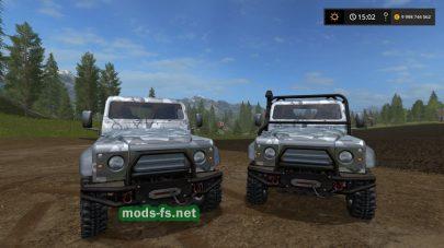 Мод автомобиля Landrover Defender