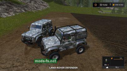 Landrover Defender mods