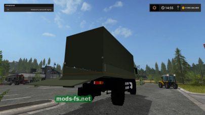 Мод грузовика MAN Forst