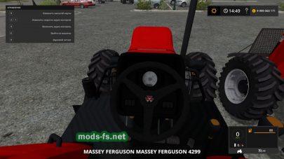 Massey Ferguson 4299 mods
