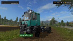 Mercedes Arocs Agra mods