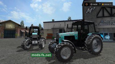 Мод трактора МТЗ-1221