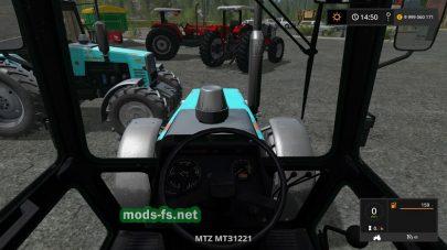 Мод тюнинг версии трактора МТЗ-1221