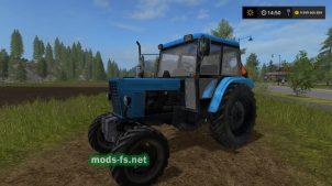 Мод трактора МТЗ-82 с большой кабиной