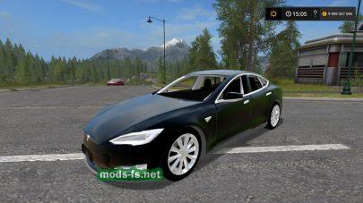 Мод Tesla Model S 2017