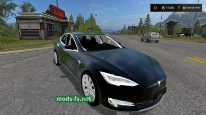 Tesla Model S 2017 для Farming Simulator