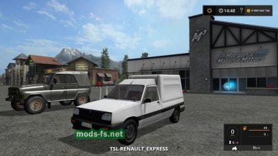 TSL Renault Express