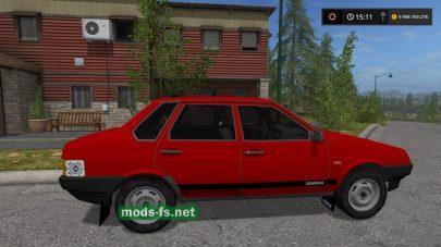 Мод автомобиля ВАЗ 21099