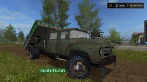ЗИЛ-130G mods