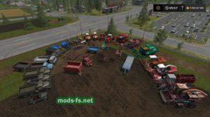 Пак комбайнов, грузовиков, тракторов для FS 2017