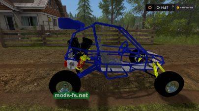 Мод машинки Crazy Kart