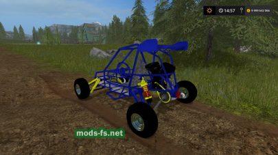 Crazy Kart для FS 2017