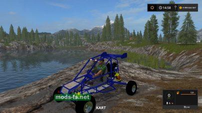 Мод багги Crazy Kart в FS 17