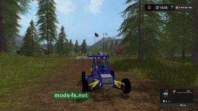 Crazy Kart в игре Farming Simulator 2017
