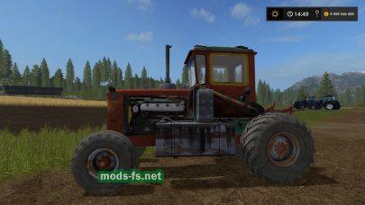 Колесный трактор ДТ 75