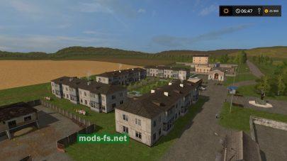 Русская карта для Farming Simulator 2017