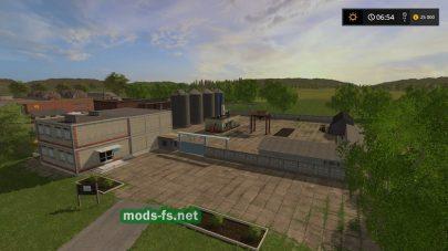 Карта с заводами для FS 17