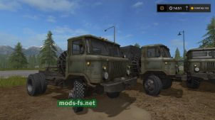 Мод грузовика ГАЗ-66