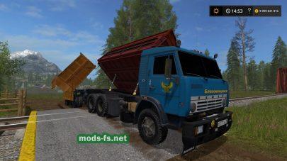 kamaz-55102 mods