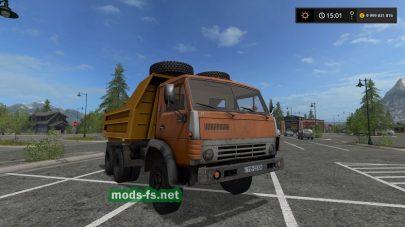 КамАЗ-5511 mods
