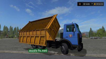 Скриншот мода «MAZ-5516»