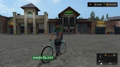 Мод велосипеда MMB3 «Аист»