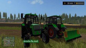 Мод трактора MTZ-14102