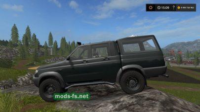 uaz 23632 mods