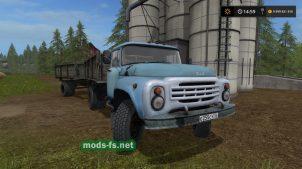 Мод русского грузовика ЗИЛ-130