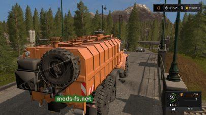 Мод грузовика URAL Next