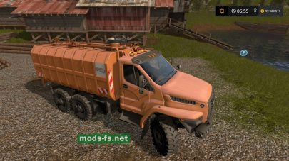URAL Next mods