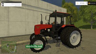 Мод трактора Беларус 82.1