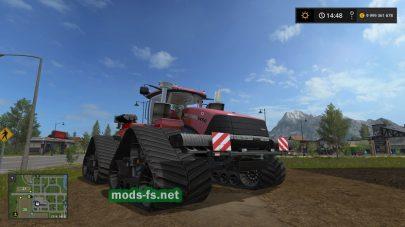 Гусеничный трактор CASE IH 1450 в FS 2017