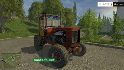 Мод колесного трактора ДТ-75