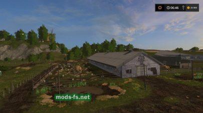 Ферма на русской карте Sibir Agro