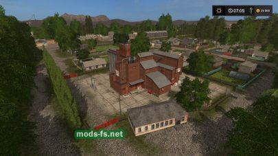 Русская деревня в Farming Simulator 2017