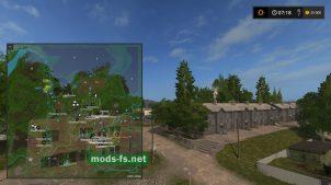 Схема карты Sibir Agro