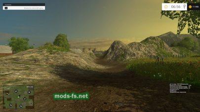 Мод русской карты для Farming Simulator 2015