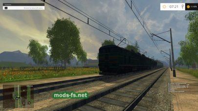 Железная дорога в FS 15