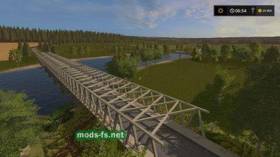 Мост на карте LPG Angern