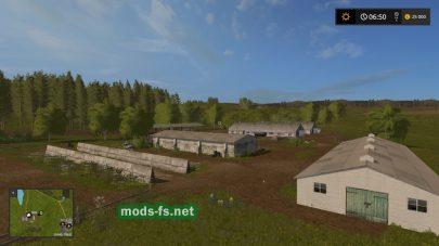 Ферма в игре FS 2017